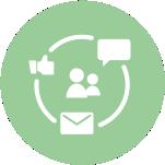 online marketing közösségi média grafika design